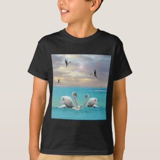 Song Of The White Swan, T-Shirt