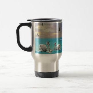 Song Of The White Swan, Travel Mug