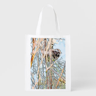 Song Sparrow Reusable Bag Grocery Bags