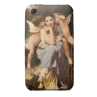 Song Spring Bouguereau Cherub Classical Art Angel iPhone 3 Cases