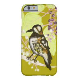 Song Thrush in a bush Barely There iPhone 6 Case