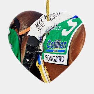 Songbird- Cotillion 16' Ceramic Heart Ornament