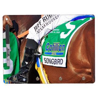 Songbird- Cotillion 16' Dry Erase Board With Keychain Holder