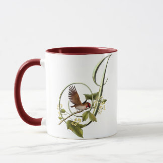 Songbird Initial J Mug