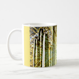 Songbird on the Stove Pipe Cactus Coffee Mug/Cup Coffee Mug