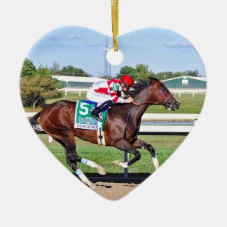 Songbird & Smith Ceramic Heart Ornament