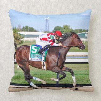 Songbird & Smith Throw Pillow