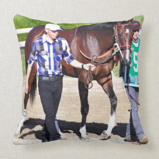 Songbird- Undefeated Throw Pillow