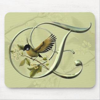 Songbirds Initial E Mouse Mat