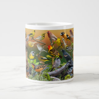 Songbirds of the West Large Coffee Mug
