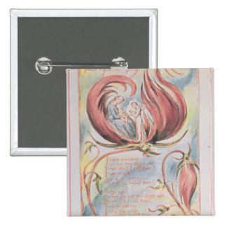 Songs of Innocence; Infant Joy, 1789 2 Inch Square Button
