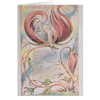 Songs of Innocence; Infant Joy, 1789 Card