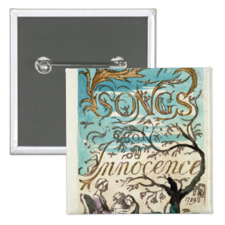 Songs of Innocence, title page 2 Inch Square Button