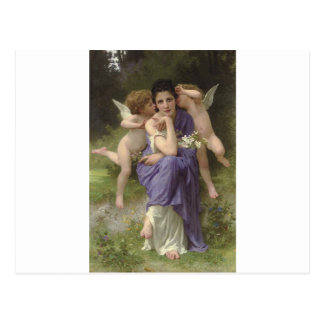 Songs of Spring by William-Adolphe Bouguereau Postcard
