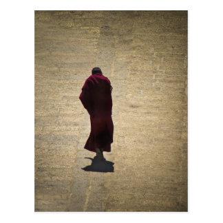 Songzhanling Monk Postcard