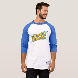 Sonic Daze Baseball Style T-Shirt