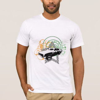 Sonic Grunge Car Design T-Shirt