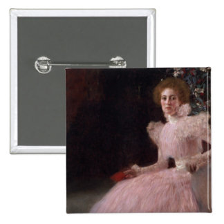 Sonja Knips, 1898 2 Inch Square Button