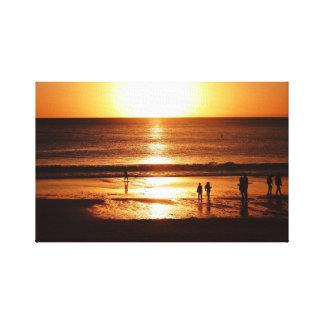 Sonnenanbeter Canvas Print