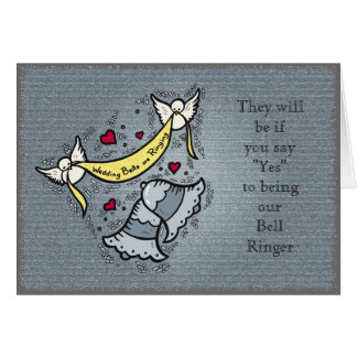 Sonnerie de Bell ou tout besoin de mariage Carte