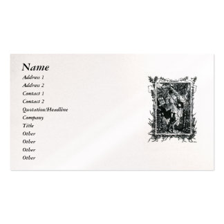 Sonnet 18 by William Shakespeare Business Card Template