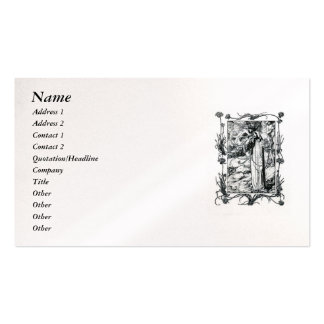 Sonnet # 18 by William Shakespeare Business Card Template