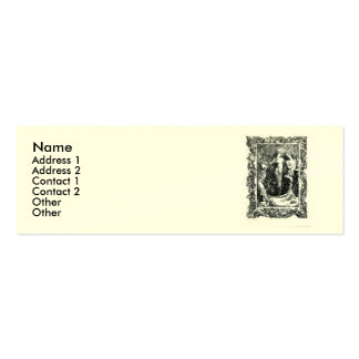 Sonnet 18 by William Shakespeare Business Cards