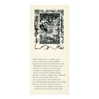 Sonnet # 18 by William Shakespeare Announcement