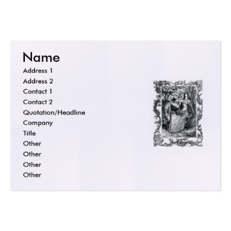 Sonnet # 18 by William Shakespeare Large Business Card
