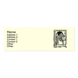 Sonnet # 18 by William Shakespeare Mini Business Card