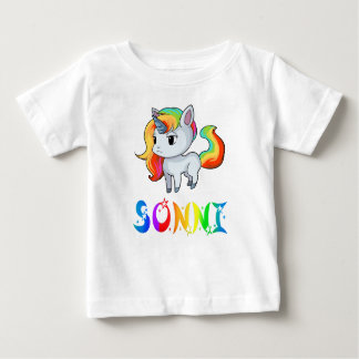 Sonni Unicorn Baby T-Shirt
