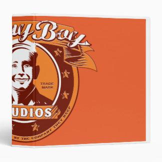 Sonny Boy Studios Orange Binder