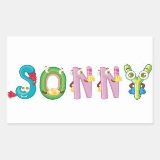 Sonny Sticker