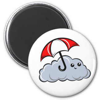 Sonny the Cloud 2 Inch Round Magnet