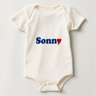 Sonny with Heart Baby Bodysuit