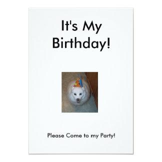 Sonny's Birthday Invitation