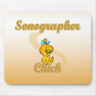 Sonographer Chick Mouse Pad