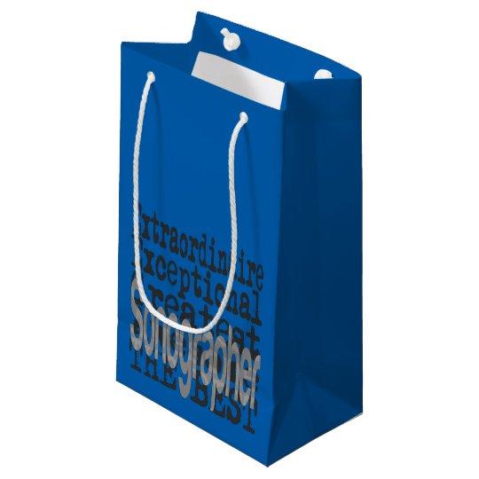 Sonographer Extraordinaire Small Gift Bag