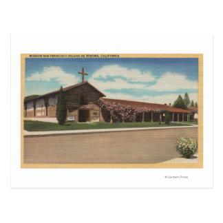 Sonoma, CA - Mission San Francisco Solano Postcard
