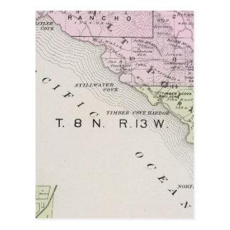 Sonoma County, California 17 Postcard