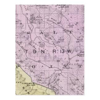 Sonoma County, California 20 Postcard
