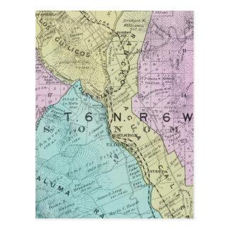 Sonoma County, California 21 Postcard