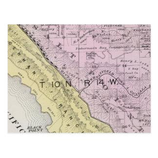 Sonoma County, California 34 Postcard