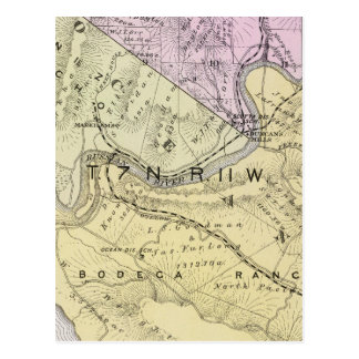 Sonoma County, California 8 Postcard