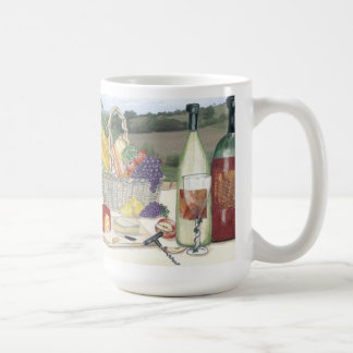 Sonoma County Style Picnic Coffee Mug