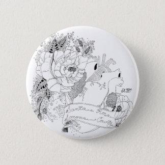 Sonoma Love (B&W) 2 Inch Round Button
