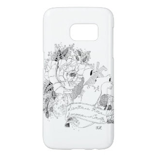 Sonoma Love (B&W) Samsung Galaxy S7 Case