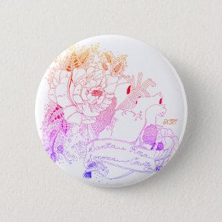 Sonoma Love (Rainbow Ombré) 2 Inch Round Button