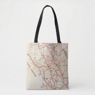 Sonoma, Marin, Lake, and Napa Counties Tote Bag
