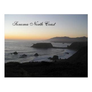 Sonoma North Coast Postcard